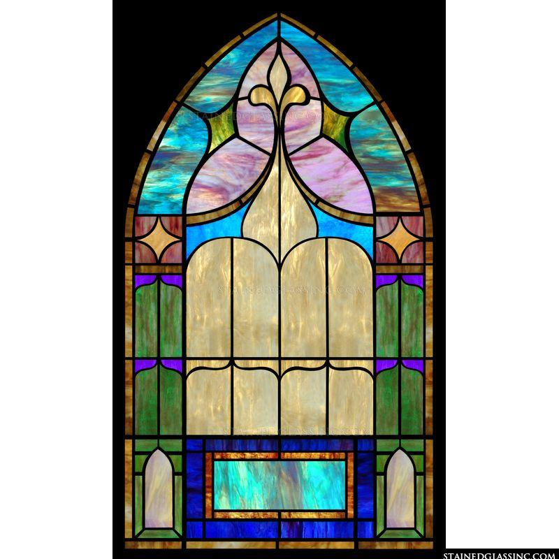 Tasteful Arched Window