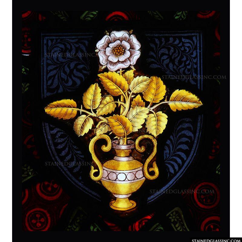 Vase Holding Flower