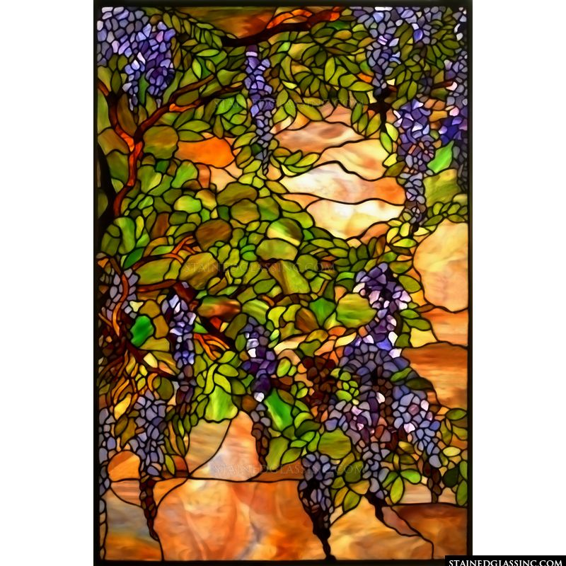 Wisteria Window Panel