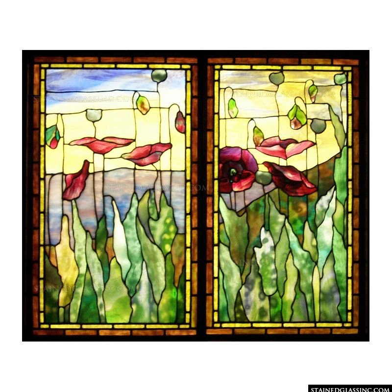 Tiffany stained glass for Mother