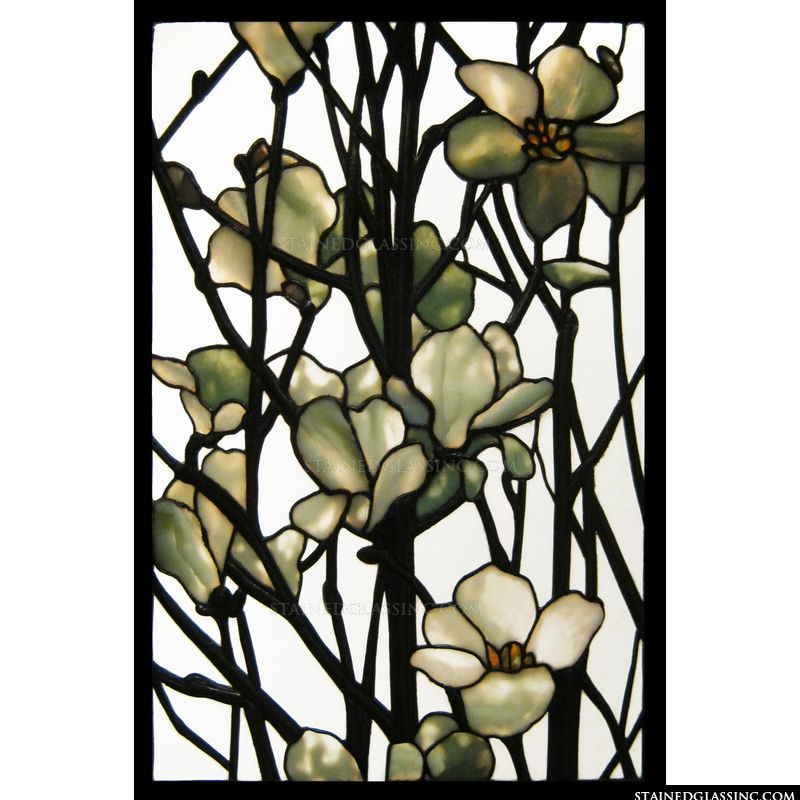 Magnolia stained glass.