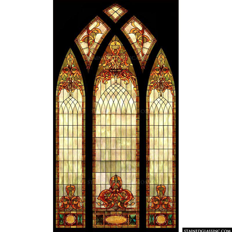 Decorative Arched Window