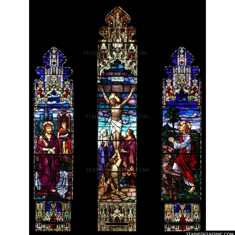 Christ's Crucifixion Gothic Style