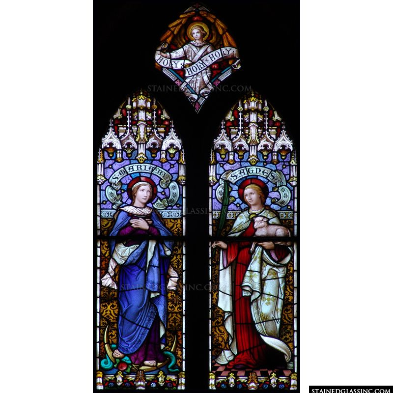 Blessed Virgin and St. Agnes