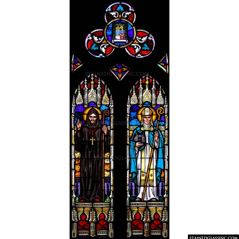 St. Hugh of Cluny and St. Walter of Pontoise