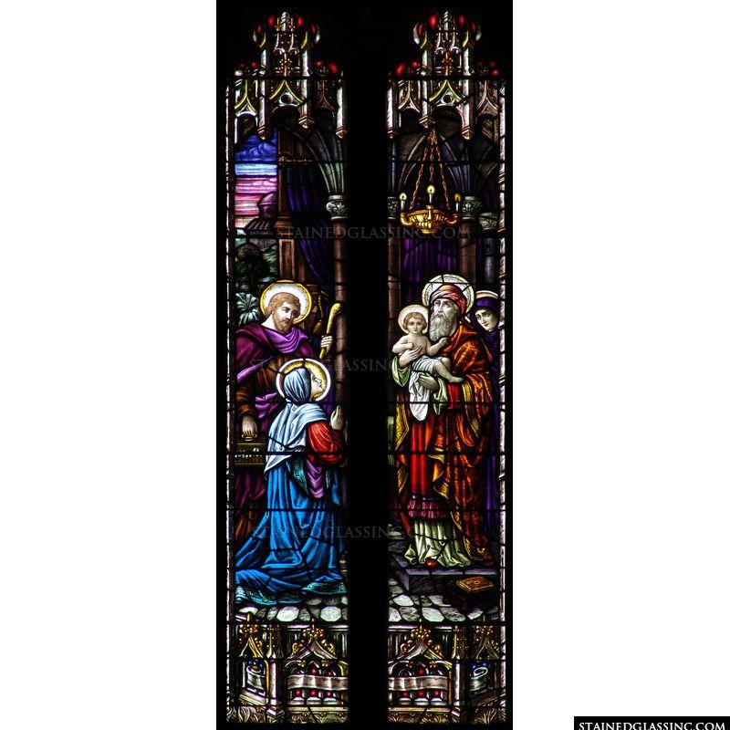 Presentation to St. Simeon