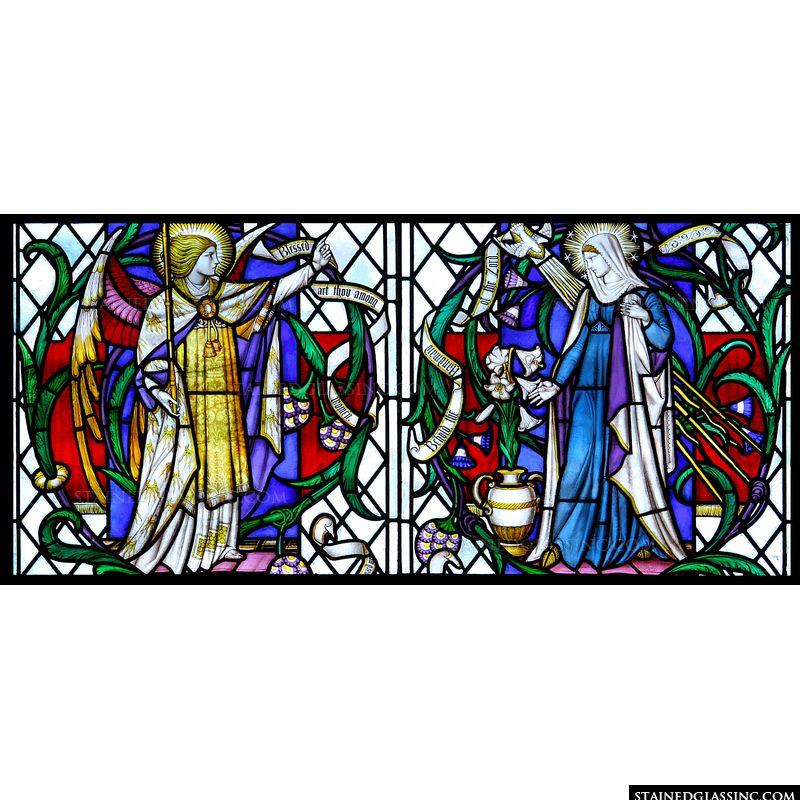 The Annunciation with Gabriel