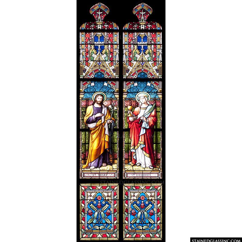 Joseph and St. Barbara