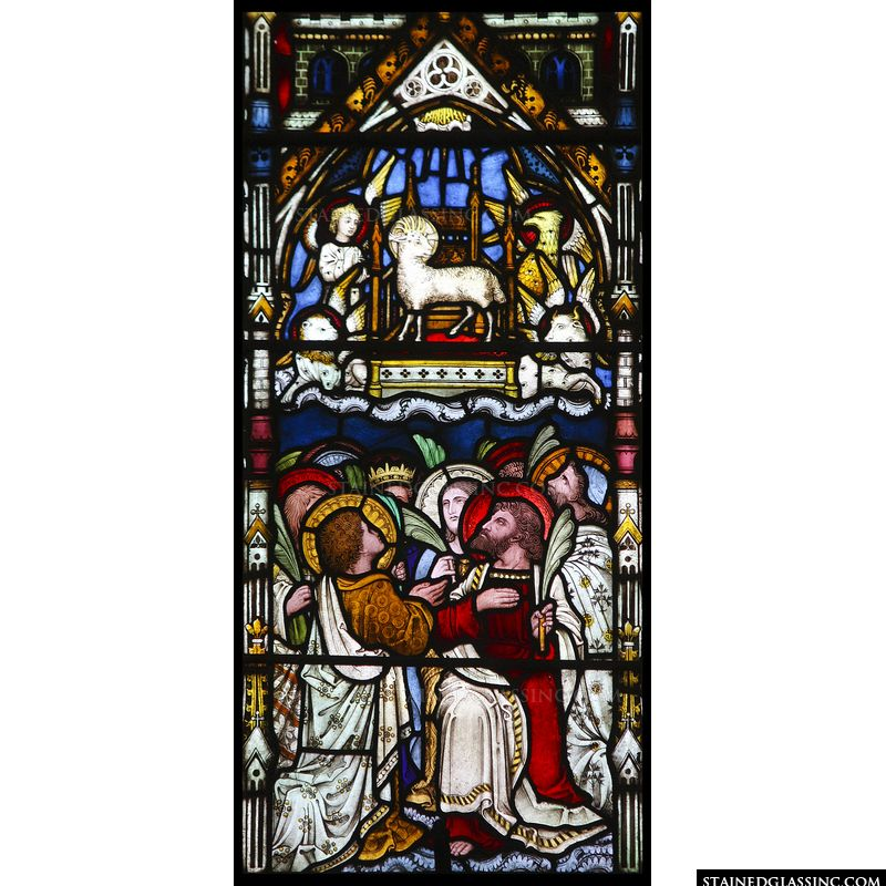 The Lamb Enthroned