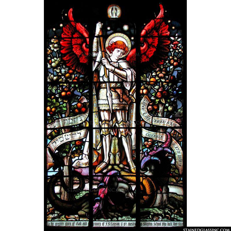 St. Michael Binding Satan