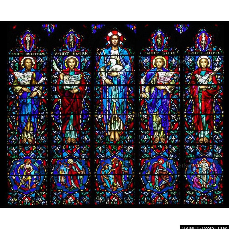 The Good Shepherd and Four Gospels