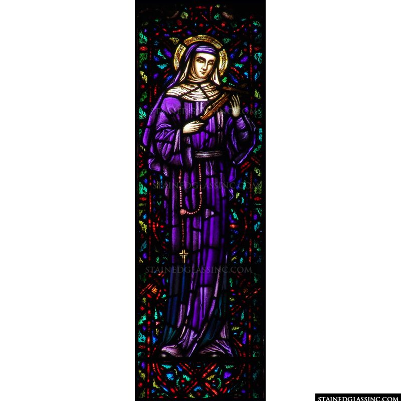 St. Rita in Purple