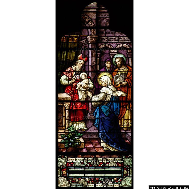 Christ's Presentation with Simeon