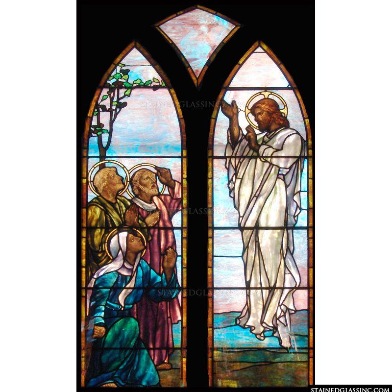 Christ Returns Home to Heaven
