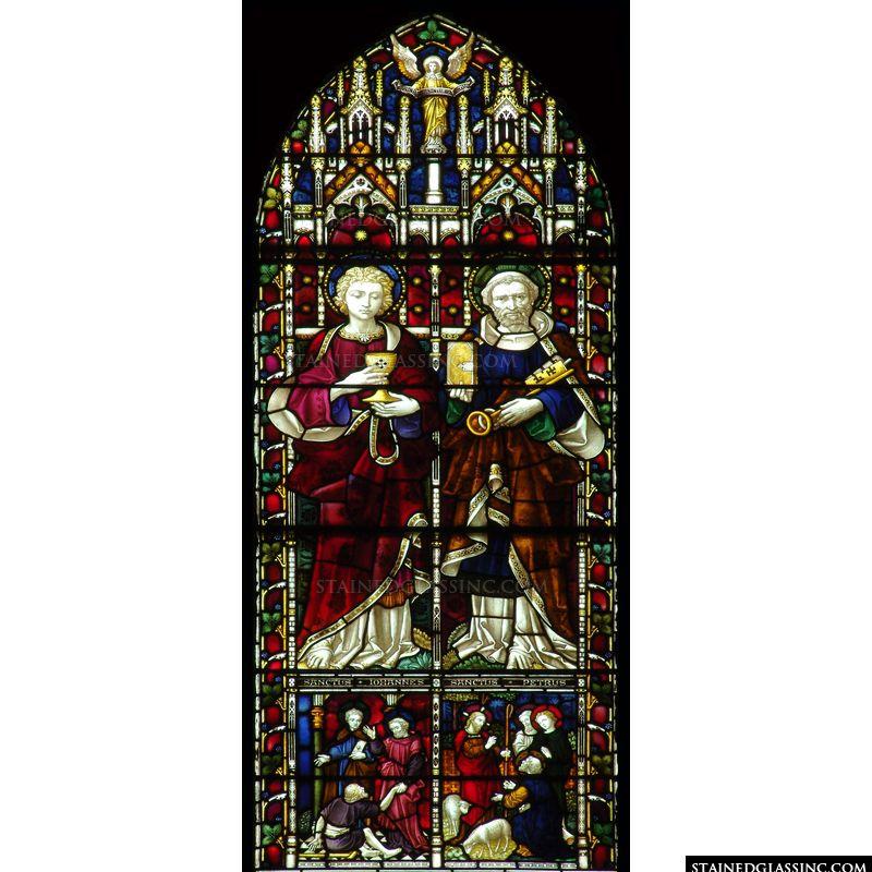 Saint John and Saint Peter