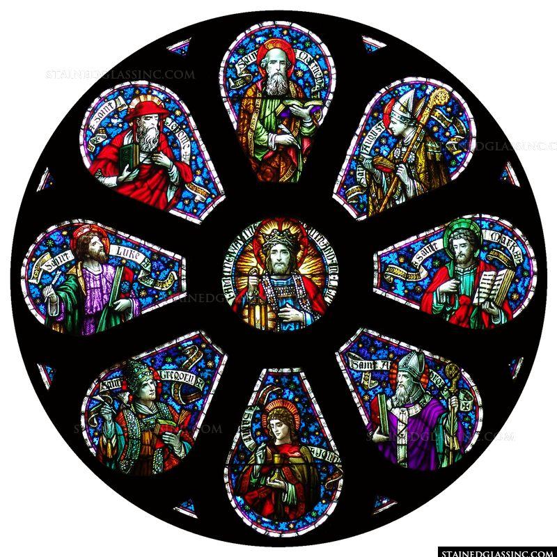 Jesus and Saints