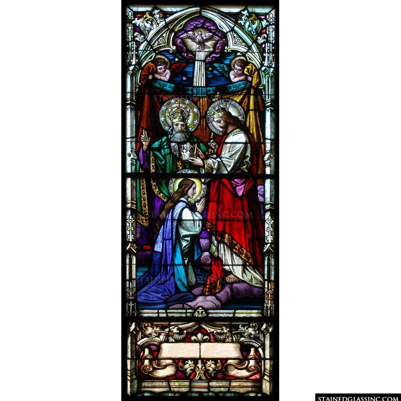 Jesus Crowning Mary