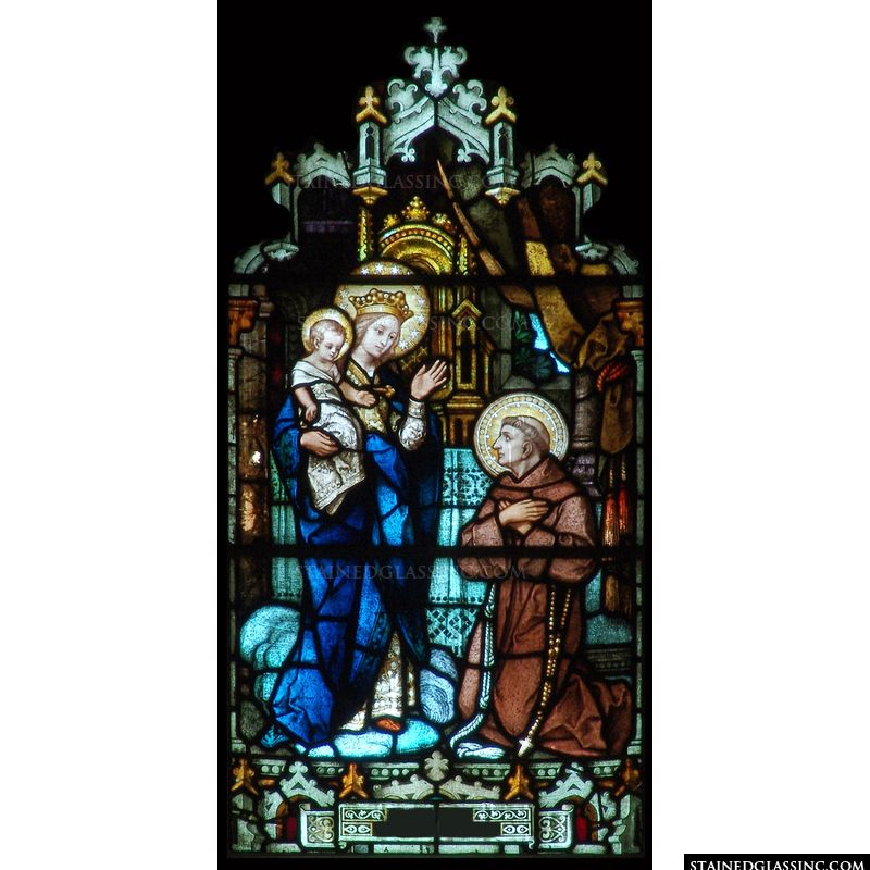 The Madonna and St. Francis