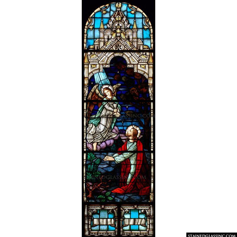 Angel at Gethsemane