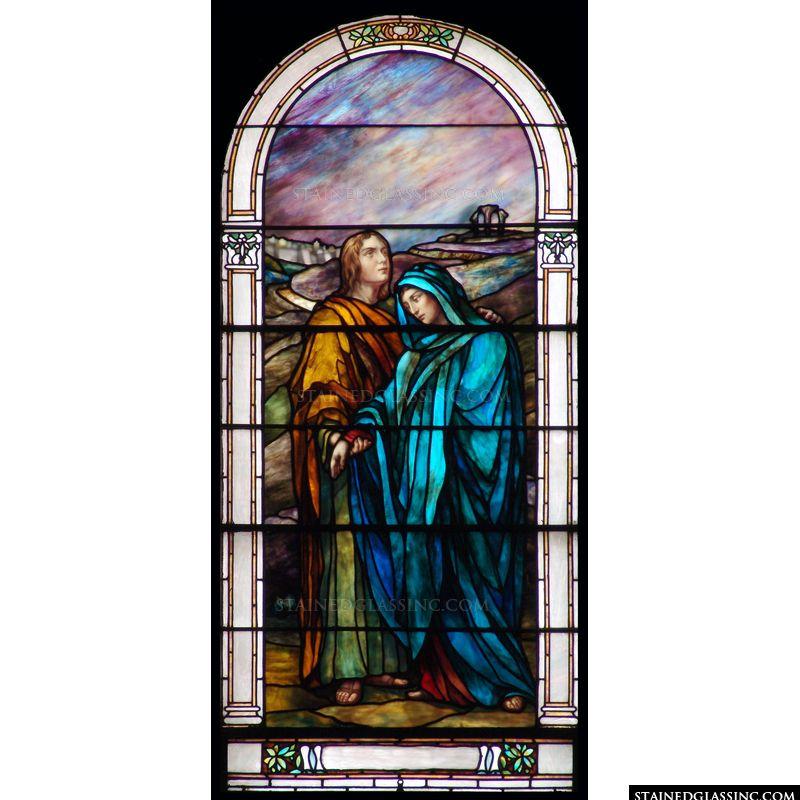 John Comforts Mary