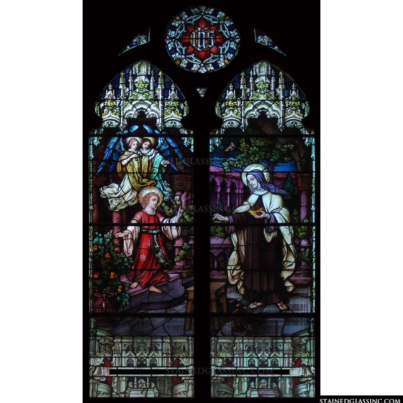 Nun and Child Jesus