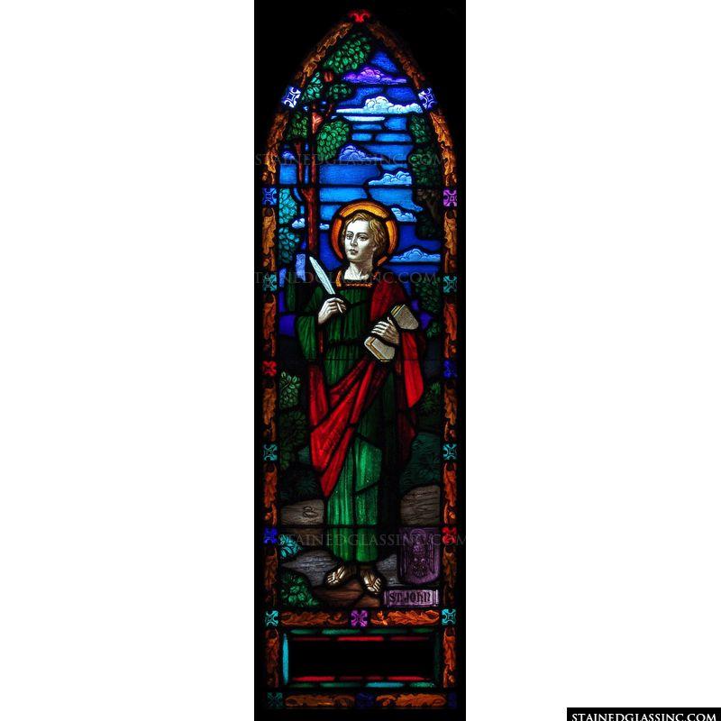 Saint John Holds a Quill