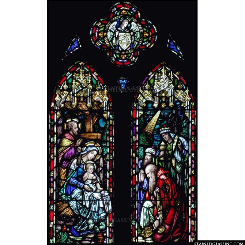 Kneeling in Adoration