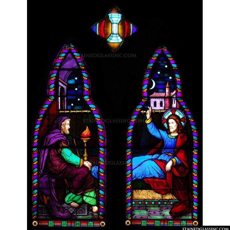 Nicodemus Visiting Jesus