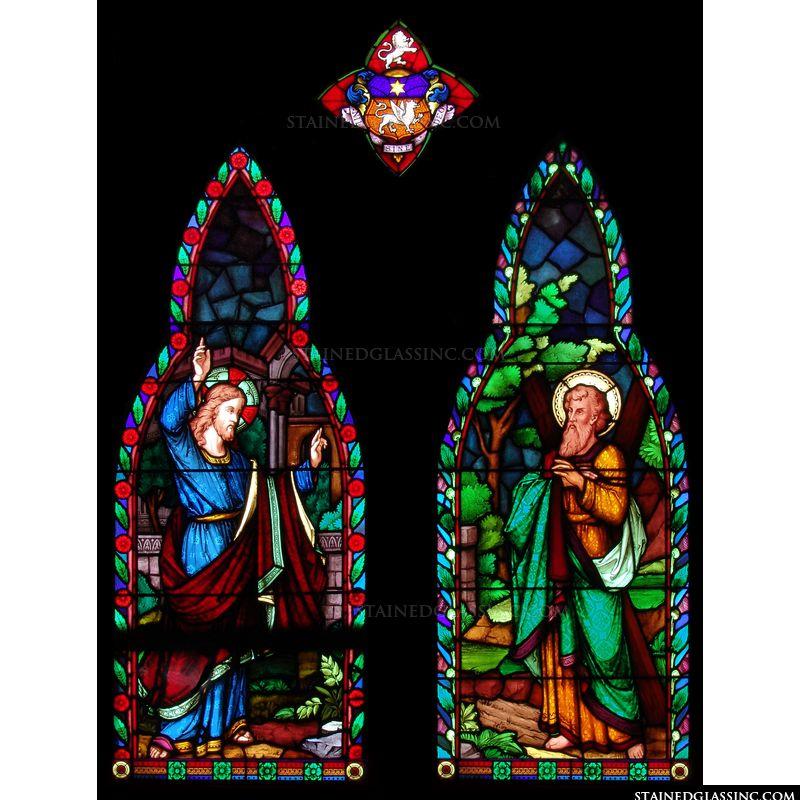Jesus and Andrew