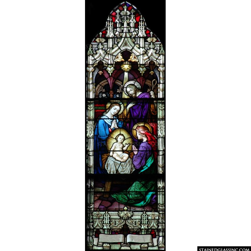 Angels Worshiping Baby Jesus