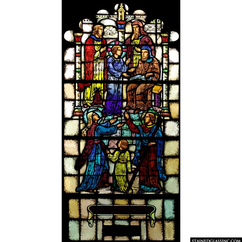 Jesus with the Elders