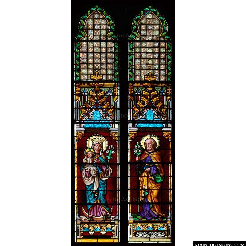 Jesus, Mary, and St. Joseph