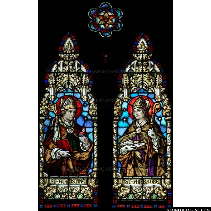St. Ambrose and St. Augustine