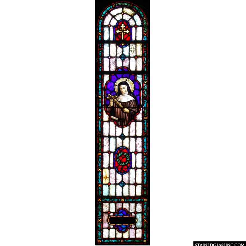 Saint Rita Window