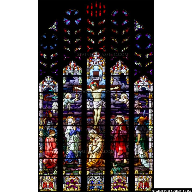 Elaborate Crucifixion Scene