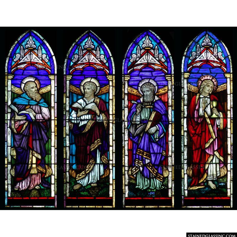 Matthew, Mark, Luke, and John