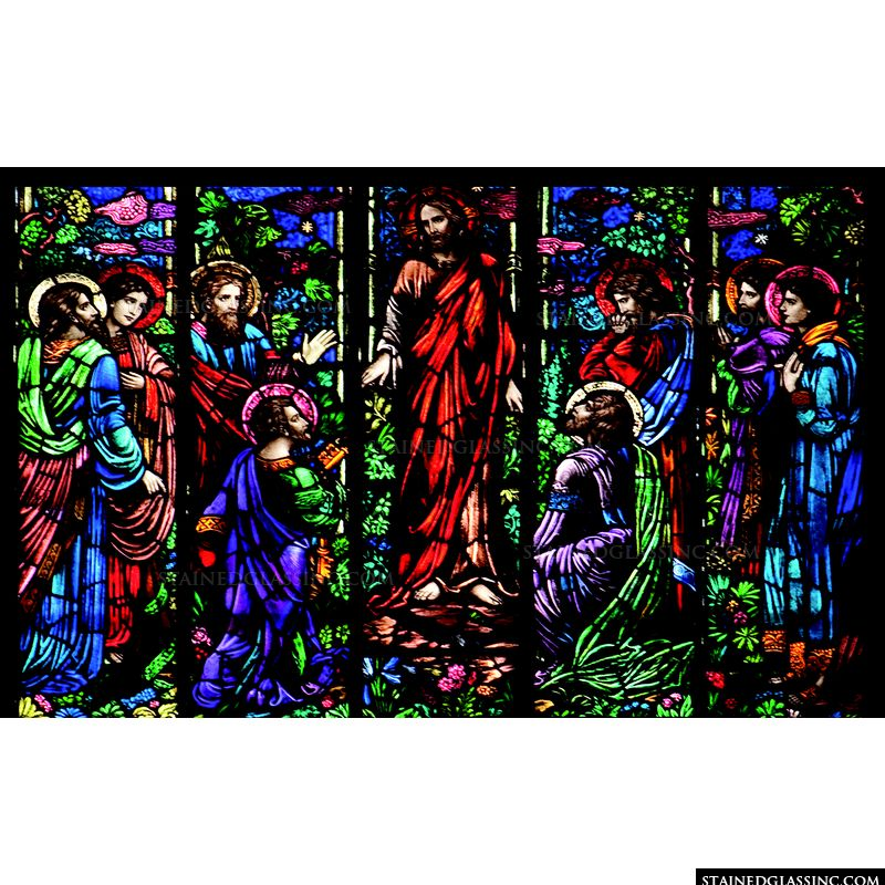 Jesus and the Faithful Followers