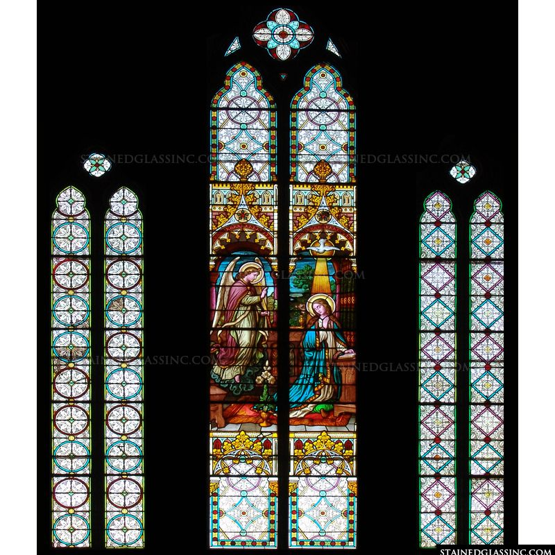 The Annunciation of Mary Panels