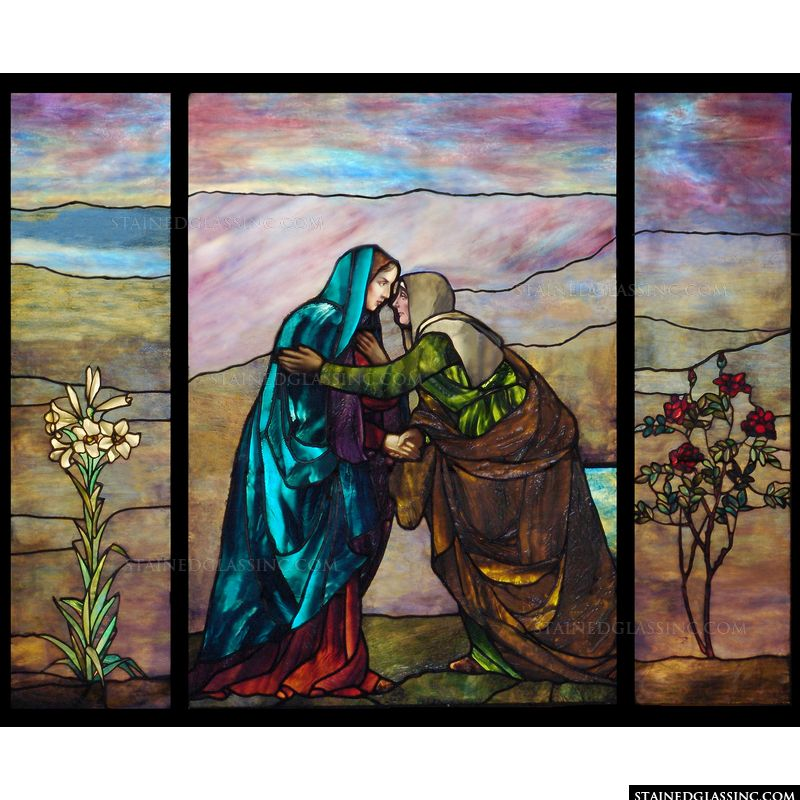Elizabeth with Mary