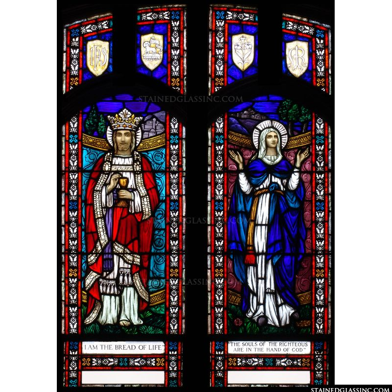 Classic Catholic Stained Glass