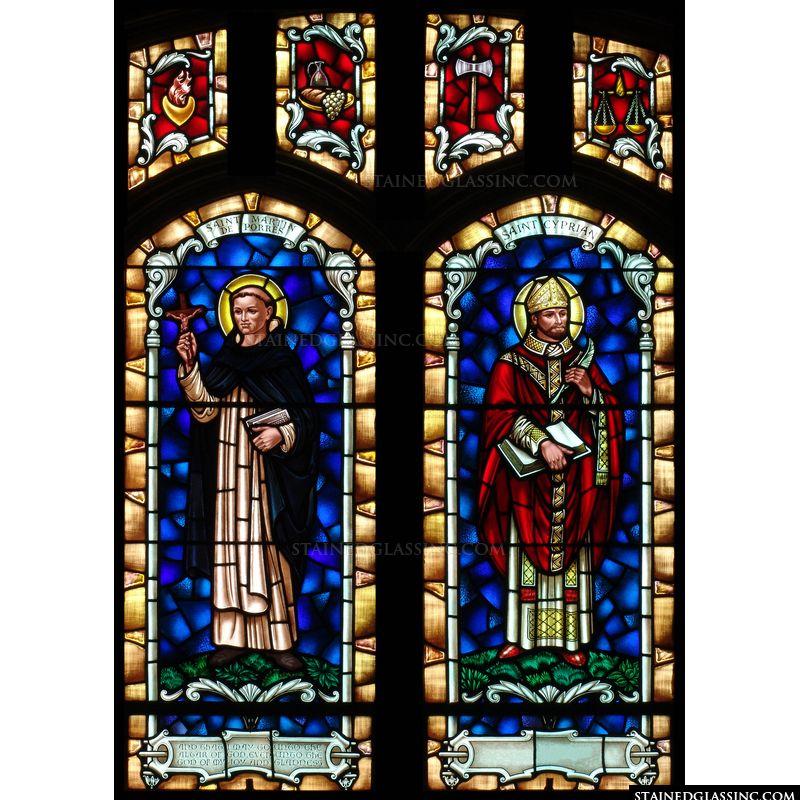 St. Martin de Porres and St. Cyprian