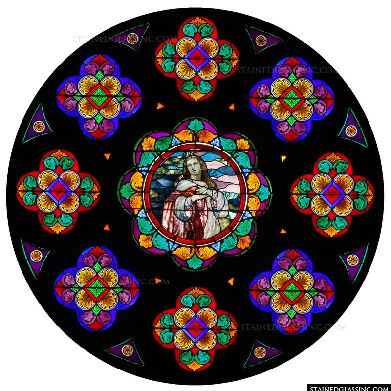 St. John Rose Window