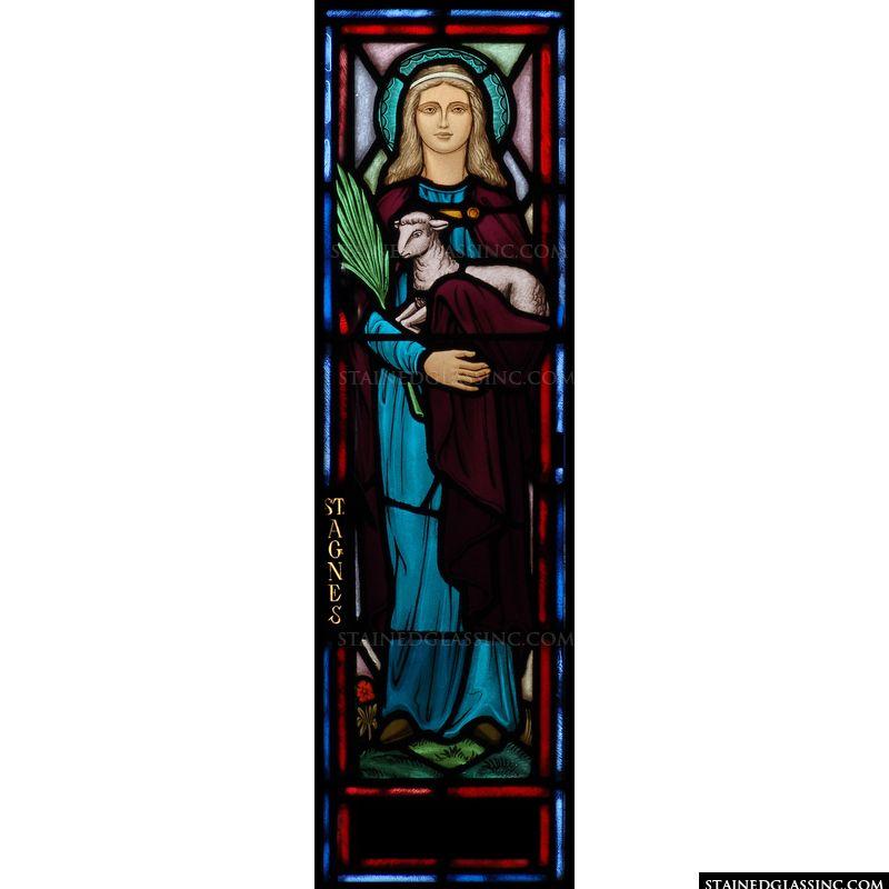 Saint Agnes with a Lamb
