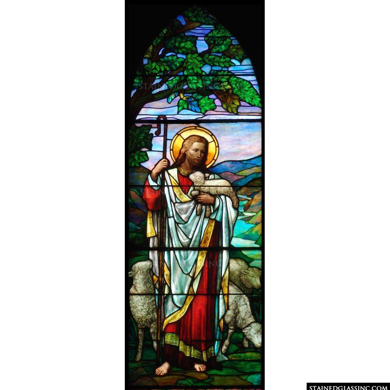 Jesus and His Precious Sheep