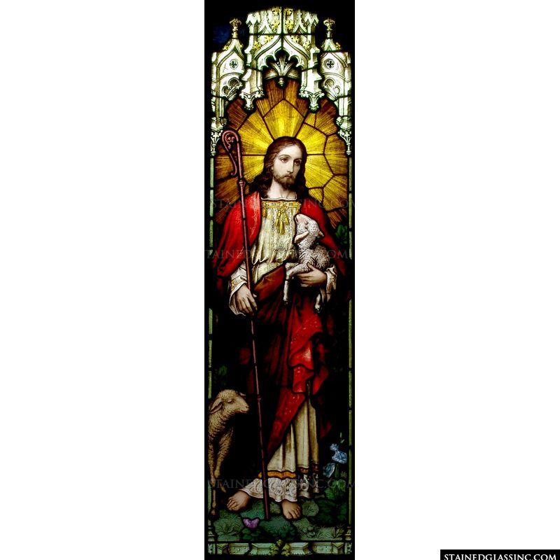 Christ Holding a Lamb