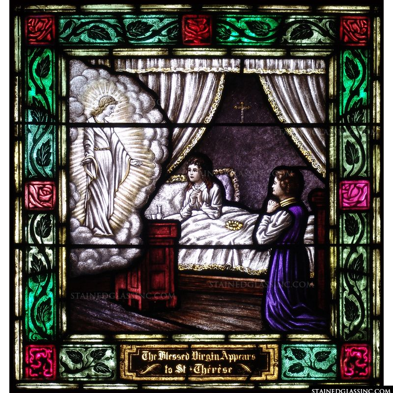 The Blessed Virgin Appears to St. Therese