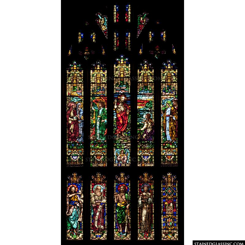 Gothic Resurrection and Saints