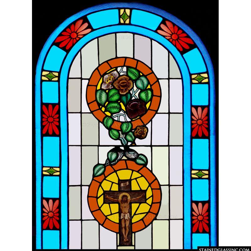 Roses on the Cross Symbols