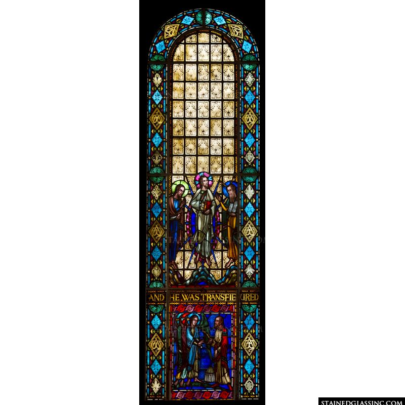 Transfiguration Stained Glass