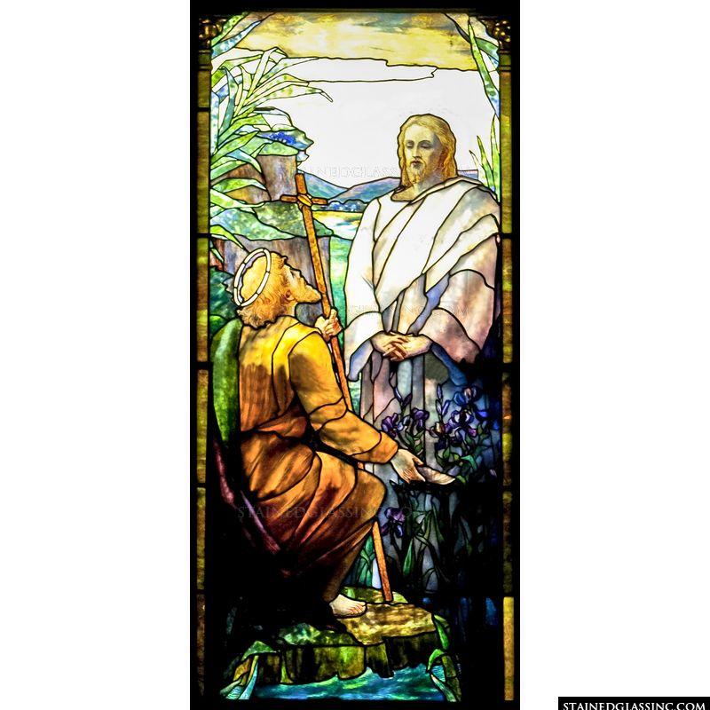 John the Baptist and Jesus